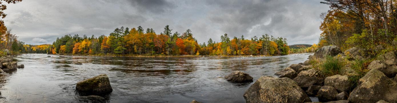 Penobscot River Panorama