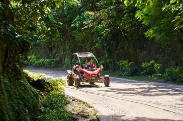 ATV on the road