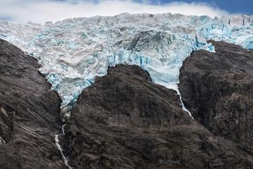 Flatbreen Glacier in Norway