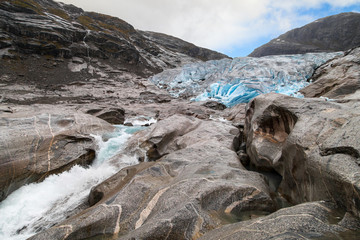 Front Moraine of the Nigardsbreen Glacier