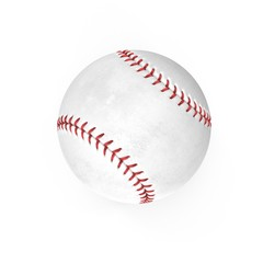 Baseball Ball on white. 3D illustration