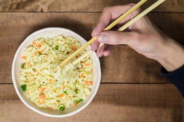 Asian instant noodles