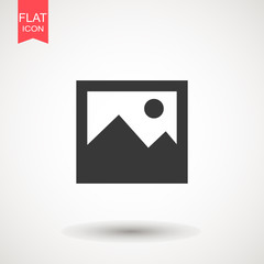 Picture vector icon, image symbol. Picture coming soon. Means that no photo. Missing image sign or uploading No image available or folder archive. Flat vector illustration for web site or mobile app.