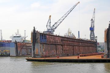Hafen, Rotterdam, Niederlande
