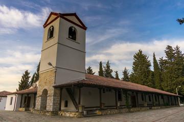 The church of Agios Athanasios ( Santa Athanasios ) in Griva, Macedonia, Greece