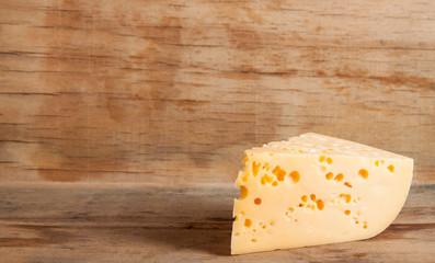 hard cheese close up