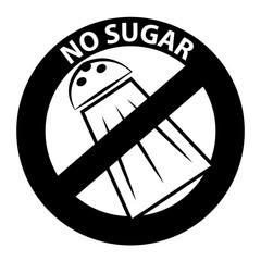 No sugar symbol
