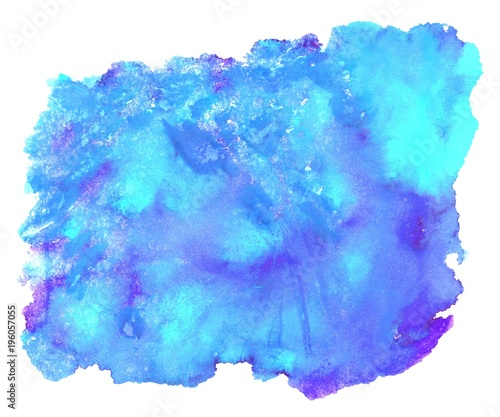Wasserfarbe Blau Türkis Lila Stockfotos Und Lizenzfreie Bilder Auf