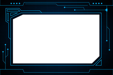 Futuristic interface  technology line frame abstract background design.