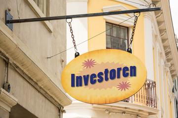 Schild 278 - Investoren