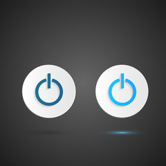 Power Buttons Illustration