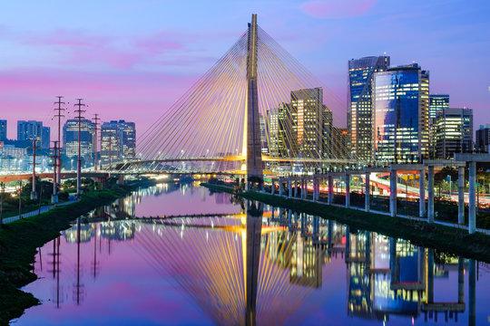 Sao Paulo Sunset Landscape - Brazil