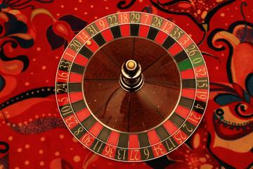 Static roulette in casino.
