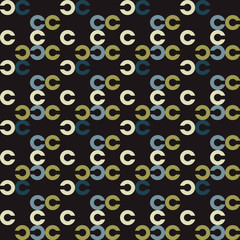 Fast moving object seamless pattern. Suitable for screen, print and other media.