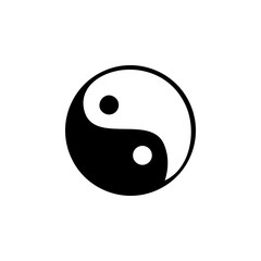 Yin Yang icon. Element of SPA icon. Premium quality graphic design. Signs and symbols collection icon for websites, web design, mobile app