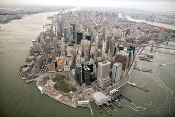 Fotomurales - Aerial view of Manhattan skyline, New York City