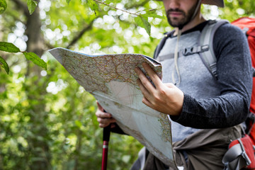 Map checking in the forest