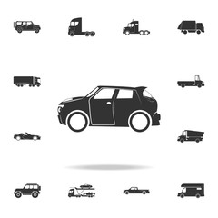 car crossover icon. Detailed set of transport icons. Premium quality graphic design. One of the collection icons for websites, web design, mobile app