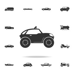 buggy car icon. Detailed set of transport icons. Premium quality graphic design. One of the collection icons for websites, web design, mobile app