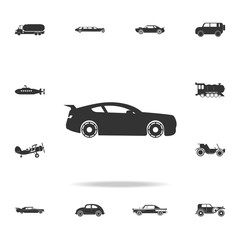 sport car icon. Detailed set of transport icons. Premium quality graphic design. One of the collection icons for websites, web design, mobile app