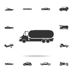 truck auto barrel icon. Detailed set of transport icons. Premium quality graphic design. One of the collection icons for websites, web design, mobile app