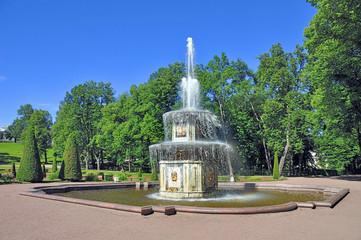 Petersburg. Roman fountain