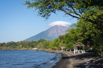 Punta Jesús María et volcan Concepción, Ometepe
