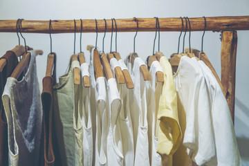 vintage natural color t-shirt