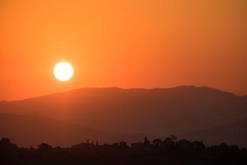 Sunrise Silhouette Italy
