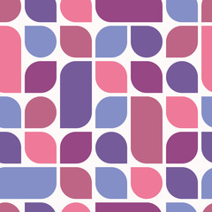 Ultra violet geometric seamless pattern