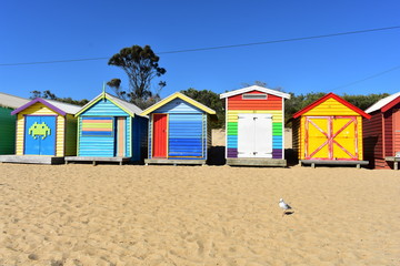 Melbourne beach hut