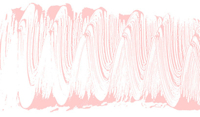 Natural soap texture. Appealing millenial pink foam trace background. Artistic exquisite soap suds. Cleanliness, cleanness, purity concept. Vector illustration.