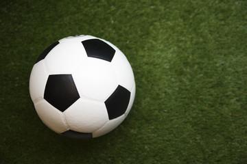 soccer ball on background
