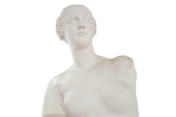 女性の石膏像