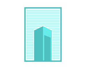 building abstract design skyscraper cityscape architecture construction image vector