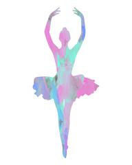 Dancing Dance Ballerina Ballet Tütü Tanz Aquarell