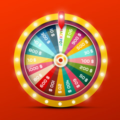 Wheel of Fortune with Jackpot Win