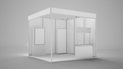exhibition stand booth