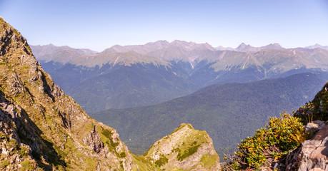 Image of scenic mountainous area