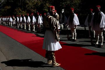 Portuguese President Rebelo de Sousa meets with Greek President Pavlopoulos