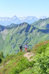 Wanderzeit im Hochgebirge
