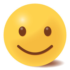 freuendes Emoticon - 3D