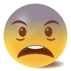Emoji geschockt - 3D