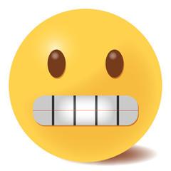 Emoji grinsend - 3D