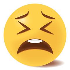 Emoji zweifelnd - 3D