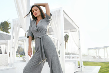 Women Fashion. Woman In Fashionable Clothes