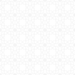 Seamless light background for your designs. Modern vector ornament. Geometric abstract pattern
