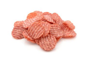 kiełbasa salami w plastrach