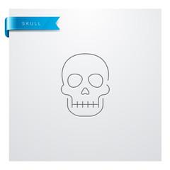 icône Crâne / Tête de mort