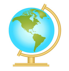 World globe vector icon